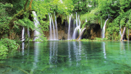 Laghi di Plitvice con Zagabria e l'Arboretum