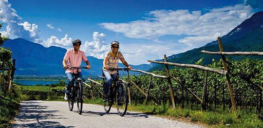 S. Candido-Lienz divertimento in bicicletta