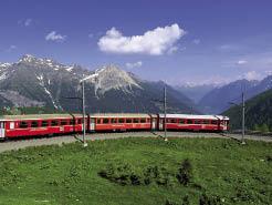 Bernina Express e le montagne di Heidi