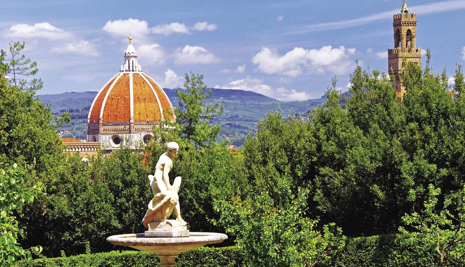 Firenze Palazzo Pitti e i Giardini di Boboli