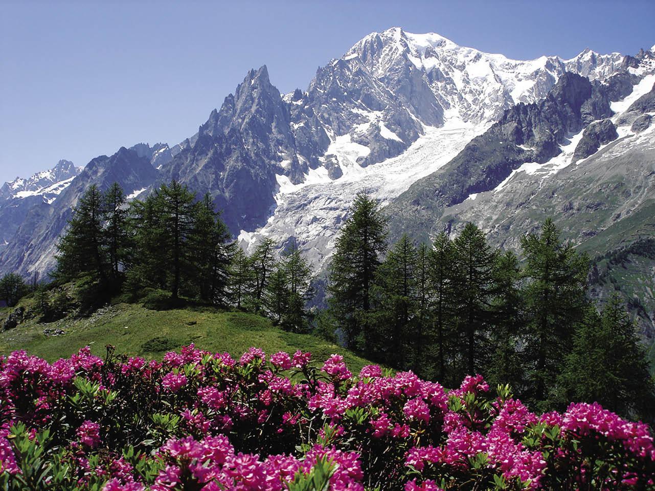 Valle d'Aosta e la funivia del Monte Bianco