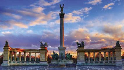 Budapest Luci dell'Avvento sul Danubio