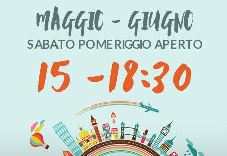 aperto-maggio-giugno Agenzia Viaggi Padova