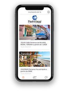 travel app pavin viaggi